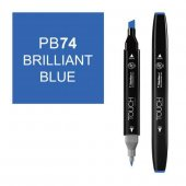 Touch Twın Marker Pb74 Brıllıant Blue