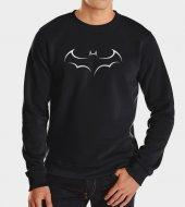 Siyah Batman Yarasa Sweatshirt