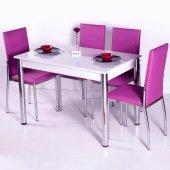Mutfak Masa Sandalye Takımı Yemek Takımları 4 Sandalyeli Takım