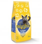 Econature Yetişkin Balıklı Kedi Maması 15 Kg.