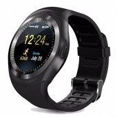 Y1 Smart Watch Akıllı Saat Kol Saati Android Ve İos Uyumlu Hafıza Kartlı