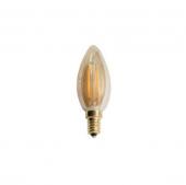 Cata 4 Watt Rustik Edison Flamanlı Buji Mum Ampul E14 Duy