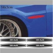 Audi Çamurluk Oto Sticker 4 Adet