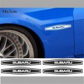 Subaru Çamurluk Oto Sticker 4 Adet