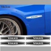 Volvo Çamurluk Oto Sticker 4 Adet