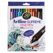 Artline Supreme Fine Pen 0.4 Mm Keçe Uçlu Kalem 30 Renk Set