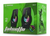 Rampage Rms G7 Falsetto 2.0 6 Watt 50hz 20khz Yeşil Multimedia 5v Usb Speaker