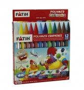 Fatih Polymer Crayons Mum Boya Tam Boy 12 Renk