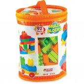 Dede Oyuncak Multi Blocks 92 Parça Eğitici Lego Blokları Seti