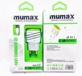 Mumax Samsung Uyumlu Hızlı Şarj Aleti Şarj Cihazı 2.4a 2 Usb Li