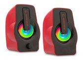 Rampage Oyuncu Tasarım Rms G7 Falsetto 2.0 6 Watt 50hz 20khz Kırmızı Multimedia 5v Usb Speaker