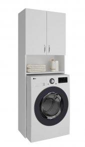 Knmz Çamaşır Makinesi Dolabı Sinem Byz Banyo Kiler...