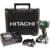 Hitachi Wh18dbdl2 Li İon Çift Akülü Kömürsüz Darbeli Tornavida