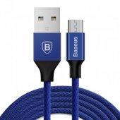 Baseus Type C Usb Şarj Ve Data Kablosu 3 A 1.2 M Mavi