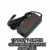 12 Volt 7 Amper Güvenlik Kamerası Adaptör