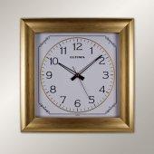 1366 Gw Sarı Köşeli Duvar Saatı