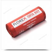 Florex Florex Tıbbi Atık Çöp Torbası. 55x60 Cm. 26...
