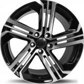 Emr 5586 05 8,0x18 Pcd 5x112 Et45 Black Polished Jant(4 Adet)