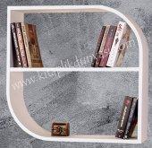 Dekoratif Damla Kitaplık Raf