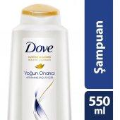 Dove Yoğun Onarıcı Şampuan 550 Ml Nemlendirici + Fırça Hediyel