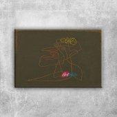 Paul Klee Makyaj Yagli Boya Klasik Sanat Kanvas Ta...
