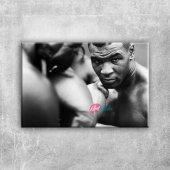 Mike Tyson Maça Hazırlık Boks Spor Kanvas Tablo...