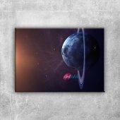 Uzay Boşluğu Dünya & Uzay Kanvas Tablo Art Tablo...