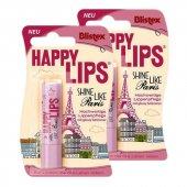 Blistex Happy Lips Paris Lip Balm 3.7 Gr 2li Eko Set