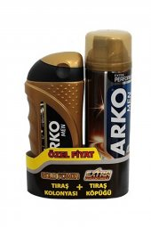 Arko Tıraş Köpüğü 200ml Cool+kol.gold