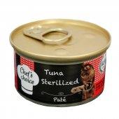 Chefschoice Ton Balıklı Ezme Tahılsız Kedi Konservesi 85 Gr