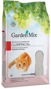 Gardenmix Bentonit Parfümsüz İnce Taneli Kedi Kumu 10 Lt