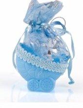 Bebek Mevlüt Şekeri Mavi Bebek Arabası