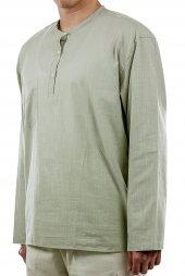 Hac Umre Kıyafeti Gömlek Haki