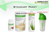 Herbalıfe Set (Shake + Aloe Vera + Çay)50gr & 100gr Seçimli