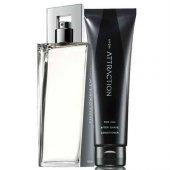 Avon Attraction Erkek Parfüm Ve Tıraş Losyonu İkili Set