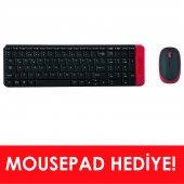 Everest Km 220 Siyah Kırmızı Kablosuz Q Multimedia Klavye + Mouse