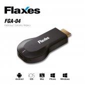 Flaxes Fga 04 Kablosuz Altın Uç Hdmı Görüntü Ve Ses Aktarıcı