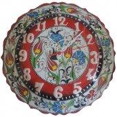 Oğuz Çini 30cm Kütahya Çini Saat