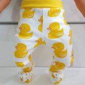 Sarı Ördek Patikli Kırmızı Bebek Tek Alt