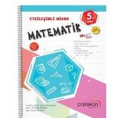 çalışkan 5.sınıf Matematik Etkileşimli Mikro Defte...