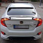 Honda Civic Fc5 2016 2019 Sı Spoiler Gri Boyalı