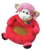 Bebek Çocuk Koltuğu Koyun Figürlü Sevimli Koltuk