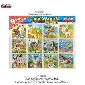 Pilsan Animal Series Puzzle Hayvanlar Alemi Yapboz Zeka Ve Beceri