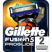 Gillette Fusion Proglide Yedek Tıraş Bıçağı 2li