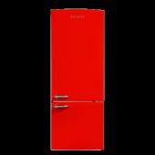 Vestel Retro Nfky510 510 Litre No Frost Kırmızı Buzdolabı