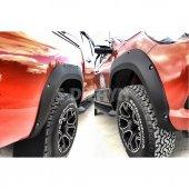 Toyota Hilux Çamurluk Kaplaması Dodik Seti Abs Plastik Vidalı