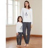 Catherines 1334 Kadın Beyaz Pijama Takımı