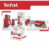 Tefal Yakut Serisi 5&#039 Li Çeyiz Mutfak Seti Kırmızı