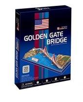 Golden Gate Bridge 3dpuzzle Cubic Fun