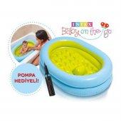 Intex Şişme Bebek Banyo Havuz Seti Bebek Küvet Seti